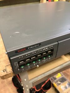 Avaya 700476005 Ip Office 500 V2 Ipo Ip500v2 Control Unit Pcs23 W Combo phones