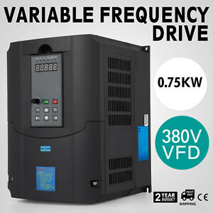 0 75kw 1hp 20a 380vac Single Phase Variable Frequency Drive Inverter Vsd Vfd