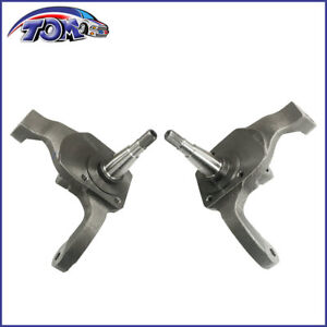 New Ball Joint Drum Brake Pr 2 1 2 Drop Spindles For 66 76 Vw Bug 22 2859