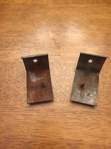 1958 59 1960 Lincoln Premiere Continental L R Front Door Panel Support Brackets