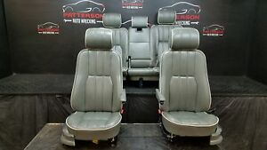 2006 Range Rover Front Rear Leather Power Seats
