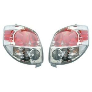 Fits 2005 2008 Toyota Matrix Pair Rear Tail Lights Driver And Rh W Bulbs