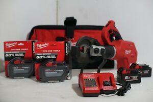 Milwaukee 18v M18 Force Logic Cordless 3 In Underground Cable Cutter Crimp M18