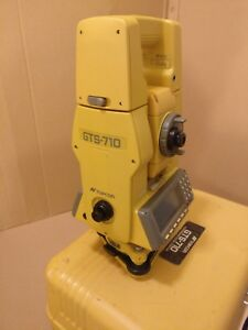 Topcon Gts 710 Total Station Electronic Distance Meter Theodolite
