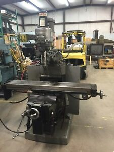 Bridgeport Series Ii Special Ez trak Dx Cnc Vertical Milling Machine W coolant