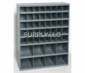 Metal Storage 48 Bins Steel Cabinet Parts Nuts Bolts Fasteners Screws