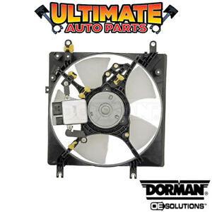 Radiator Cooling Fan With Controller 2 4l Or 3 0l For 01 03 Mitsubishi Galant