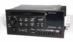 Chevy S10 Blazer 2000 Radio Amfm Cd Player Upgraded W Aux Mp3 Ipod Input On Face