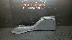 2000 Gmc S10 s15 sonoma Center Floor Console Assembly Black Manual Transmission