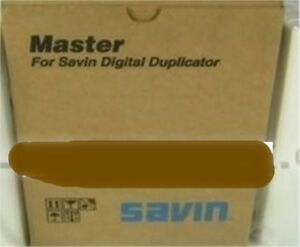 Savin 4564 Thermal Masters type 3150e 2 Rolls For Use In 3150ednp Duplicator