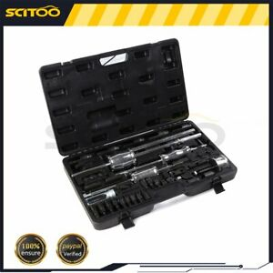 Complete Kit Auto Truck Diesel Injector Extractor Slide Hammer Puller Tool Kits