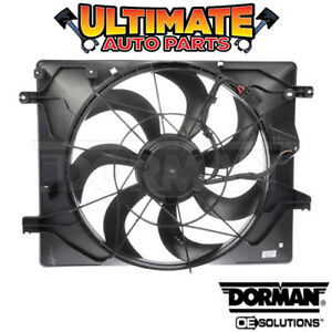 Radiator Cooling Fan 3 8l V6 For 10 12 Hyundai Genesis coupe