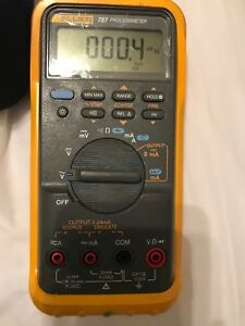 Used In Good Condition Fluke Process 787