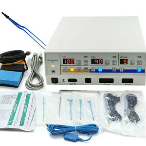 Electrosurgical Unit Diathermy Machine Surgery Cautery Coagulation Quick Work Ce
