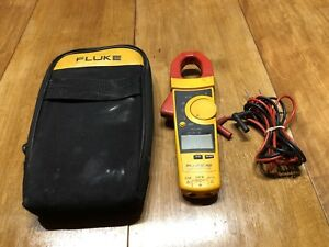 Fluke 902 Fc Hvac Amp Clamp Meter Digital Multimeter With Leads