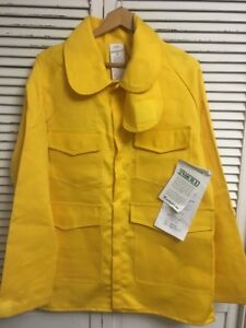 Pgi Indura Wildland Fire Fighter Garment Jacket Made Usa Adult M Nwt Old Stock