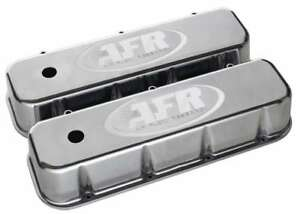 Air Flow Research Bbc Alum Valve Cover Polished W Afr Logo