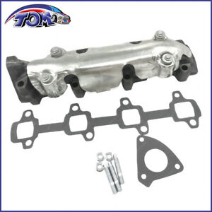 Exhaust Manifold Kit Passenger Right Side For Chevy Gmc Pickup Truck Van 6 6l