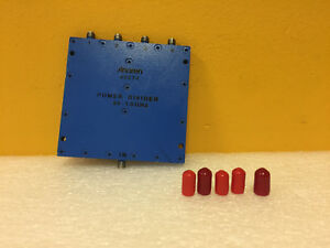 Anaren 42074 0 5 To 1 Ghz 20 Db Sma f 4 Way Power Divider Tested