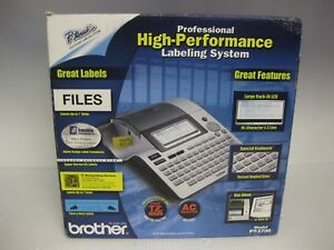 New Brother P touch Pt 2700 Professional High Performance Labeling System