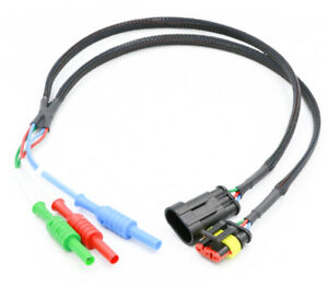 3 Pin Amp Superseal Automotive Breakout Lead scope Diagnostics