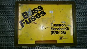 Buss Fuses Fusetron Branch Service Kit Erk 28 Incl Extra Fuses