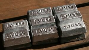 40 LBS LEAD ALLOY INGOTS FOR BULLETS FISHING ETC.