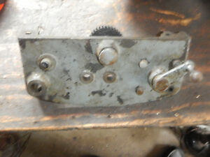 Logan Metal Lathe Carriage Apron With Some Gears