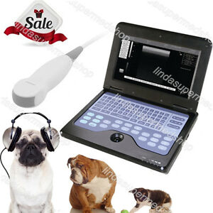 Digital Vet Veterinary Portable Laptop Ultra Sound Scanner 3 5m Micro convex Pro