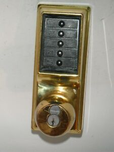 Simplex L1000 Series Push Button Lock 1021 S Schlage Old Style For Parts repair