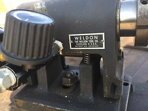 Weldon Air Bar W Weldon Sub base In Metal Case