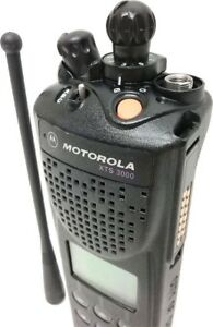 Motorola Xts3000 Ii Two Way Radio Public Safey Smartnet Smartzone 800mhz