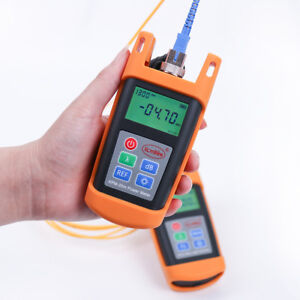 50 26 Dbm Fiber Optical Cable Tester Mini Fiber Optic Power Meter Opm Kpm 25m