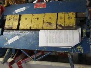 Roper Whitney Sheet Metal Bending Brake 24 U218