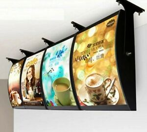 4 Custom Printed A2 Slim Led Light Box Poster Display advertising Menu Board