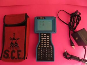 Tds Trimble Ranger Data Collector Tsce Super Rare Survce Software For Ts Gps