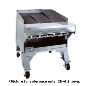 Bakers Pride Ch 12 65 12 Burner Heavy Duty Radiant Charbroiler