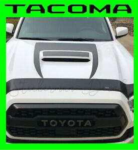 2016 2018 Toyota Tacoma Trd Sport 2 Piece Hood Scoop Graphic Decal Kit