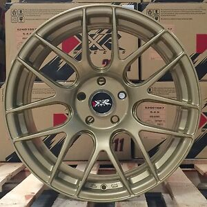 Xxr 530 18 X8 75 9 75 20 S Gold Concave Rims Staggered Wheels 5x4 5 5x114 3 Z