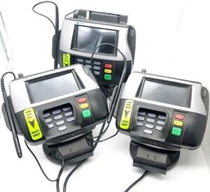 Lot Of 3 Verifone Mx860 Point Of Sale Credit Card Terminal M094 409 01 rc W Pen
