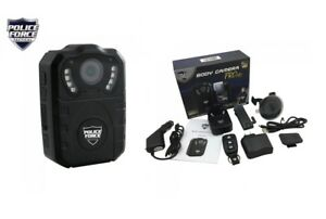 Police Force Tactical Body Camera Dash Cam Pro Audio Night Vision Full Hd