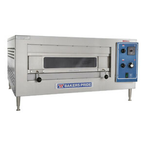 Bakers Pride Ep 1 2828 Countertop Electric Pizza Deck Oven