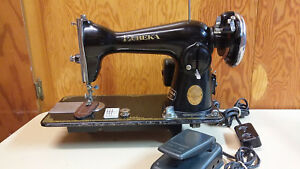 Eureka Deluxe Heavy Duty Straight Stitch Sewing Machine Leather Upholstery Denim