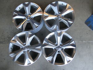 2017 Lexus Nx200t Nx300h Factory 18 Wheels Oem Rims 74356 Gs Es Highlander