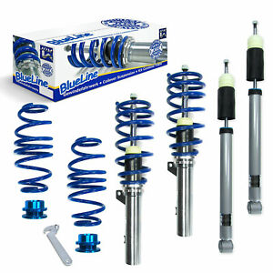 Jom Vw Golf Gti R Mk7 7 Height Adjustable Coilover Suspension Lowering Kit