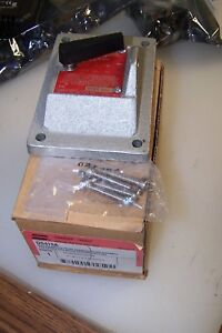 New Crouse Hinds Ds415a Snap Switch Toggle Cover Explosion proof