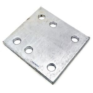 Tow Bar Ball Drop Plate 6 Hole Space Height Adjuster Tr137