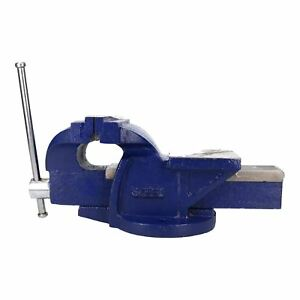 6 150mm Cast Iron Fixed Base Bench Vice Vise Clasp Clamp Holder Heavy Duty
