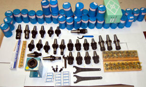 101 Techniks Cat 40 Tooling Kit For Haas fadal Cnc Mill er Collet chuck stud