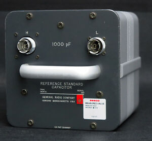 General Radio Gr Iet 1404 a 1000 Pf Reference Standard Capacitor 1404a